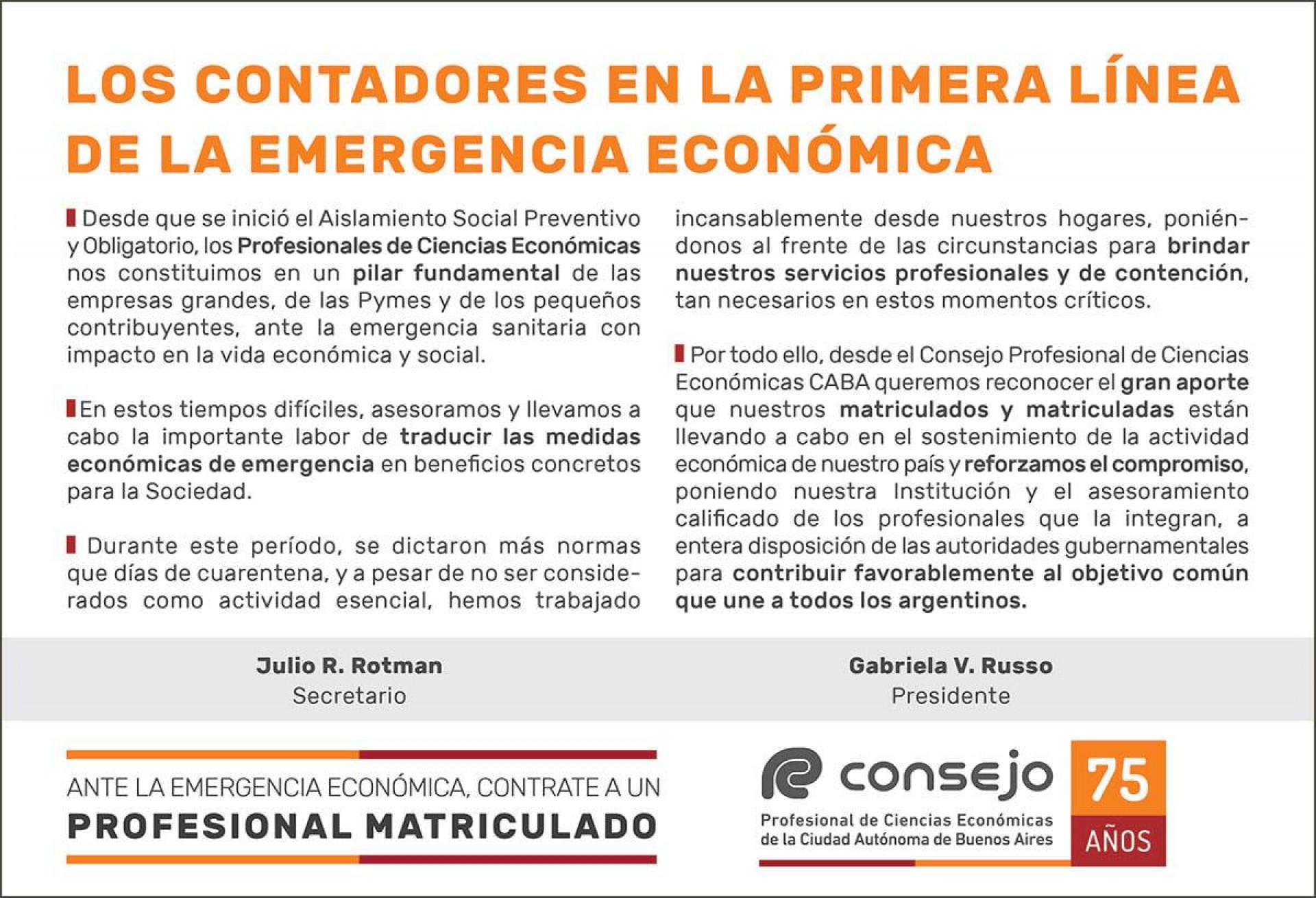 Publicado el 17/5/2020 en el Suplemento Económico del diario Clarín